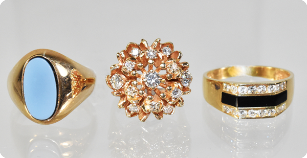 Lefflers buys gold jewelry, diamonds, silver, one-of-a-kind items and historical pieces.
