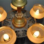 ART-DECO-5-SHADE-BRONZE-FINISH-CHANDELIER-WITH-FRUIT-DETAIL-264917138020-3