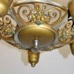ART-DECO-5-SHADE-BRONZE-FINISH-CHANDELIER-WITH-FRUIT-DETAIL-264917138020-5
