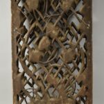 Antique-Carved-Wood-Asian-Style-Panel-Circa-1880s-Floral-Details-265109950990-5