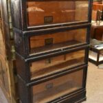 Antique-Globe-Wernicke-Co-Four-Stack-Barrister-Bookcase-Banded-Corners-265207824390