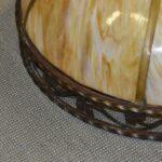 Antique-Large-Scale-Slag-Glass-Chandelier-Leaf-Pattern-295-Diameter-194222440110-2