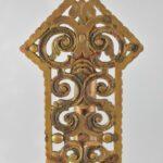 Antique-Pair-Art-Deco-Brass-Scroll-Openwork-Mantle-Buffet-Lamps-193162869140-6