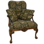 Italian-Style-Sherrill-Furniture-Carved-Armchair-with-Tapestry-Upholstery-264931987930