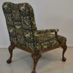 Italian-Style-Sherrill-Furniture-Carved-Armchair-with-Tapestry-Upholstery-264931987930-3