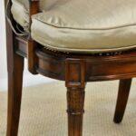 Sheraton-Style-Mahogany-Settee-Bench-Inlaid-Bronze-Plaques-264224513280-3