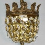 Three-Brass-Crystal-Wall-Sconces-Acanthus-Leaf-Details-Made-In-Spain-264913475350-2