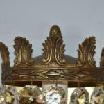 Three-Brass-Crystal-Wall-Sconces-Acanthus-Leaf-Details-Made-In-Spain-264913475350-4