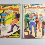 Two-Superman-Comics-132-97-Jimmy-Olsen-VG-264083955370