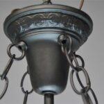 VINTAGE-LEADED-GLASS-CHANDELIER-LIGHT-FIXTURE-AMBER-CREAM-191496202490-4