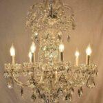 Vintage-Antique-9-Arm-Crystal-Chandelier-264220259880-2