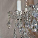 Vintage-Antique-9-Arm-Crystal-Chandelier-264220259880-5