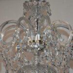Vintage-Antique-9-Arm-Crystal-Chandelier-264220259880-9