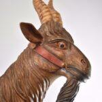 Vintage-Carousel-Goat-Philadelphia-Style-Glass-EyesPainted-Bass-Wood-263166921990-3