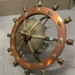 Vintage-Large-Scale-Brass-Copper-Twelve-Light-Chandelier-32-265201333690