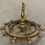Vintage-Large-Scale-Brass-Copper-Twelve-Light-Chandelier-32-265201333690-5