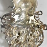 Vintage-Radko-925-Sterling-Silver-Santa-Claus-PinBrooch-66-Grams-264986119870-3