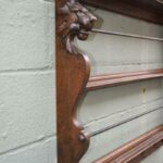Antique-Oak-Plate-Rack-Carved-Lion-Heads-Brass-Cup-Hooks-Circa-1890s-194020042201-3