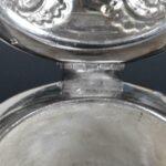 Antique-Silver-Plate-Cut-Glass-Pitcher-Claret-Carafe-193938073601-5
