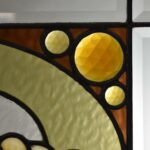 Antique-Stained-Slag-Glass-Jewels-Beveled-Window-264165232481-3