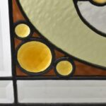Antique-Stained-Slag-Glass-Jewels-Beveled-Window-264165232481-4