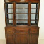 Double-Sided-Mahogany-China-Cabinet-Breakfront-By-Georgetown-Galleries-193743512691-11