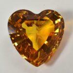 Swarovski-Amber-Cut-Glass-Crystal-Heart-2005-With-Box-265089420911-2