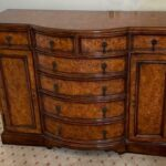 Theodore-Alexander-Eight-Drawer-Regency-Style-Bow-Front-Sideboard-Chest-265247502141