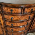Theodore-Alexander-Eight-Drawer-Regency-Style-Bow-Front-Sideboard-Chest-265247502141-5