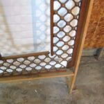 VICTORIAN-LARGE-ENTRYWAY-CHERRY-BALL-STICK-FRETWORK-95-x-98-192275361921-5