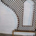VICTORIAN-LARGE-ENTRYWAY-CHERRY-BALL-STICK-FRETWORK-95-x-98-192275361921-6
