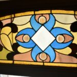 Victorian-Arched-Top-Stained-Glass-Beveled-Window-Floral-Design-5724-192896132841-2