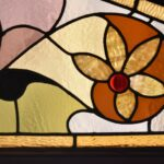 Victorian-Arched-Top-Stained-Glass-Beveled-Window-Floral-Design-5724-192896132841-3
