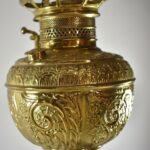 Victorian-Brass-and-Silver-Tone-Cherub-Oil-Lamp-with-Gold-Tone-Highlights-192509137421-4