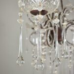Vintage-Looking-French-Style-Chandelier-with-Crystal-Drops-and-Cut-Glass-Flowers-194229201691-3