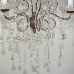 Vintage-Looking-French-Style-Chandelier-with-Crystal-Drops-and-Cut-Glass-Flowers-194229201691-4