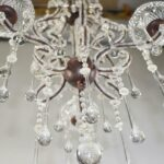 Vintage-Looking-French-Style-Chandelier-with-Crystal-Drops-and-Cut-Glass-Flowers-194229201691-7