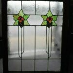 ARTS-AND-CRAFTS-FLORAL-LEADED-STAINED-GLASS-WINDOW-36-12-H-X-31-34W-263970088332