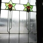 ARTS-AND-CRAFTS-FLORAL-LEADED-STAINED-GLASS-WINDOW-36-12-H-X-31-34W-263970088332-2