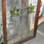 ARTS-AND-CRAFTS-FLORAL-LEADED-STAINED-GLASS-WINDOW-36-12-H-X-31-34W-263970088332-5