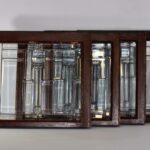 ARTS-CRAFTS-CLEAR-BEVELED-WINDOWS-FRANK-LLOYD-WRIGHT-STYLE-2-AVAILABLE-192277539712-2