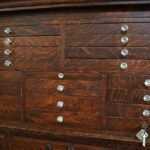 Antique-Quarter-Sawn-Oak-Dental-Cabinet-Leaded-Glass-Doors-194247948232-8