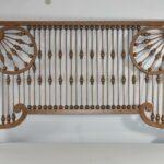 Antique-Victorian-Oak-Ball-And-Stick-Fretwork-24-x-38-12-Circa-1900-192404489052