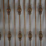 Antique-Victorian-Oak-Ball-And-Stick-Fretwork-24-x-38-12-Circa-1900-192404489052-6
