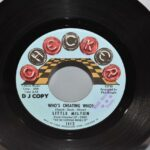 Blues-Little-Milton-45RPM-Single-Sided-Promo-N-Mint-Whos-Cheating-Who-192494886732-2