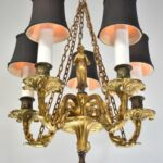 Bronze-Small-Scale-French-Five-Arm-Chandelier-Figural-Female-Detail-Center-264115337682-2