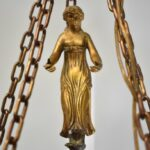 Bronze-Small-Scale-French-Five-Arm-Chandelier-Figural-Female-Detail-Center-264115337682-3