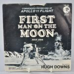 First-Man-On-The-Moon-July-1969-45RPM-MGM-Records-Hugh-Downs-Apollo-11-Flight-NM-263417738102