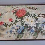 Oil-On-Canvas-Original-By-Lee-Reynolds-Chrysanthemum-Floral-Details-192326529022