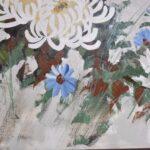 Oil-On-Canvas-Original-By-Lee-Reynolds-Chrysanthemum-Floral-Details-192326529022-4